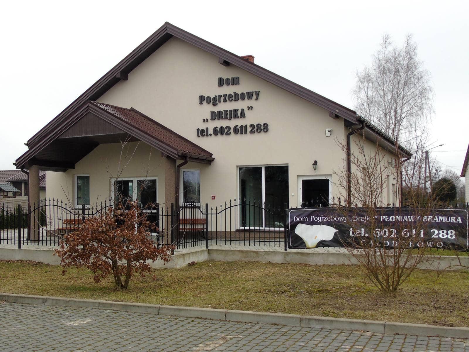 dom pogrzebowy płoniawy
